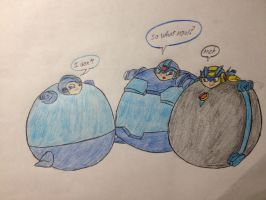 pc: megaman inflation by vivere-sectam129