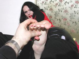 Gothic Soles Tickled 9 by jason9800player2