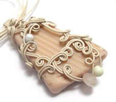 Selkie Song Necklace no. 23 by sojourncuriosities