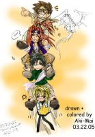 Saiyuki - Journey Onward by Aki-Mai