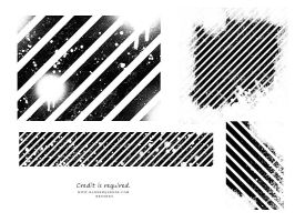 Grunge lines 2 brush stamps by akaleez88