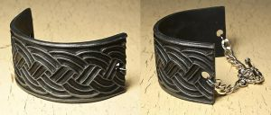Celtic bracelet by skuggsida