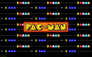 Pac-Man Chase Wallpaper by crvnjava67
