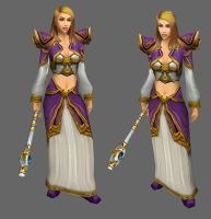 WoW old Jaina Model by xshadowxknightx16