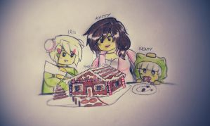 Gingerbread house by Squira130