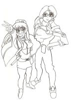 A Nadesico Couple by SeekingElegance