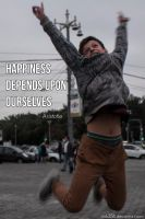 Happiness Depends Upon Ourselves by Nick356