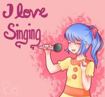 (TB) I love singing by Patutie-Chan