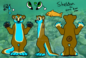 [COMMISSION] Sheldon Reference Sheet by CassMutt