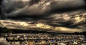 The Spiralling Storm by NullCoding