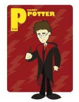 P is for Harry Potter by jksketch