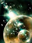 Glass Bubbles in Space by ValentiniaK