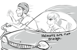 Helmets are not enough by OkiRose