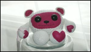 Valentine Bear by SecondHandCaravan