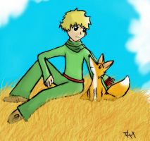 Le Petit Prince by Kitchinou