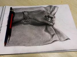 Hands life study by rak78374
