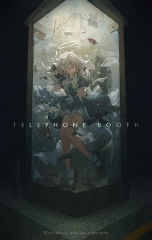 TELEPHONE BOOTH by Miv4t