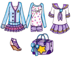 Mimi OUTFIT DESIGNS by suusj-chan