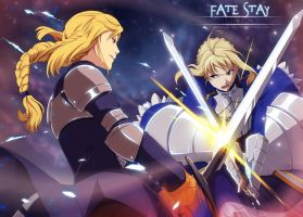 Fate Stay Tactics: Fated Duel by annria2002