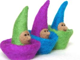 Nestling Gnomes by OoO----MEHRA----OoO