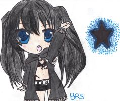 Chibi Black Rock Shooter by KYOLUVER17