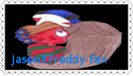 JasonXFreddy Stamp by SkullChuu