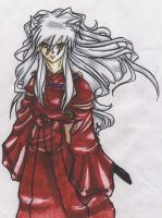Prismacolor InuYasha by TheIjiness