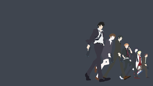 Psycho-Pass Team Lineup by WagonMan95
