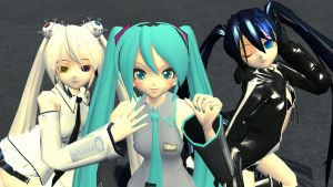 Pretty MMD Girls by xSakuyaChan510x