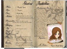 Vampire Knight Diary Application by Jnennyuki