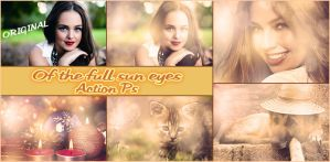 Of the full sun eyes   Action Ps by Tetelle-passion