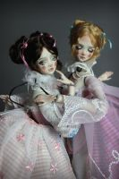 Porcelain BJD Dolls by Forgotten Hearts by aidamaris
