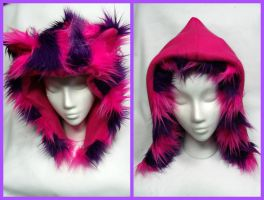Cheshire Cat Hat Reversible by kawaiibuddies
