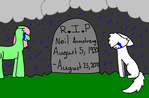 Goodbye, Neil Armstrong by NyctoScoto