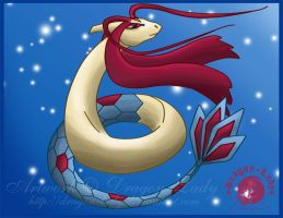 King Milotic of the sea by Dragon-Lady