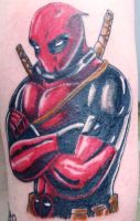 Deadpool tattoo by blackbirde01