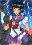 Sailor Saturn ACEO by ninjin4ever