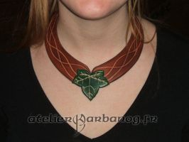 Collier feuille - leaf necklace by Karbanog