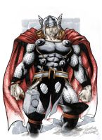Thor Colored by Buchemi