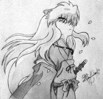 Inuyasha by 1The-God-Of-Art
