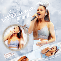 PNG Pack (160) Ariana Grande by IremAkbas