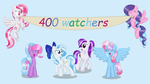 400 Watchers by Bluty21
