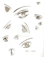 Anime Eyes by ViQQe