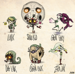 Majoras Mask Tim burton Style! by Daeron-Red-Fire