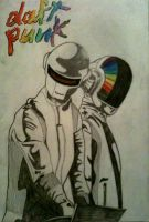 Daft Punk by Finz23
