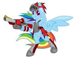 rainbow dash rathalos armor by endrome