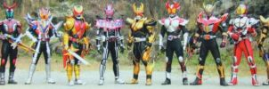 12 Kamen Riders by Dynamiteboom12345