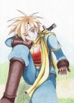 Golden Sun Isaac by MintoMinto
