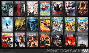 Movie Icon Pack 122 by FirstLine1