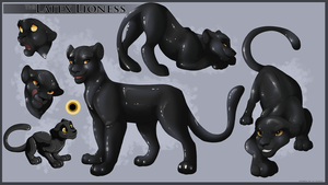 Latex Lioness -Commission- by Kitchiki